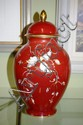 Furstenberg lidded urn 32cm high