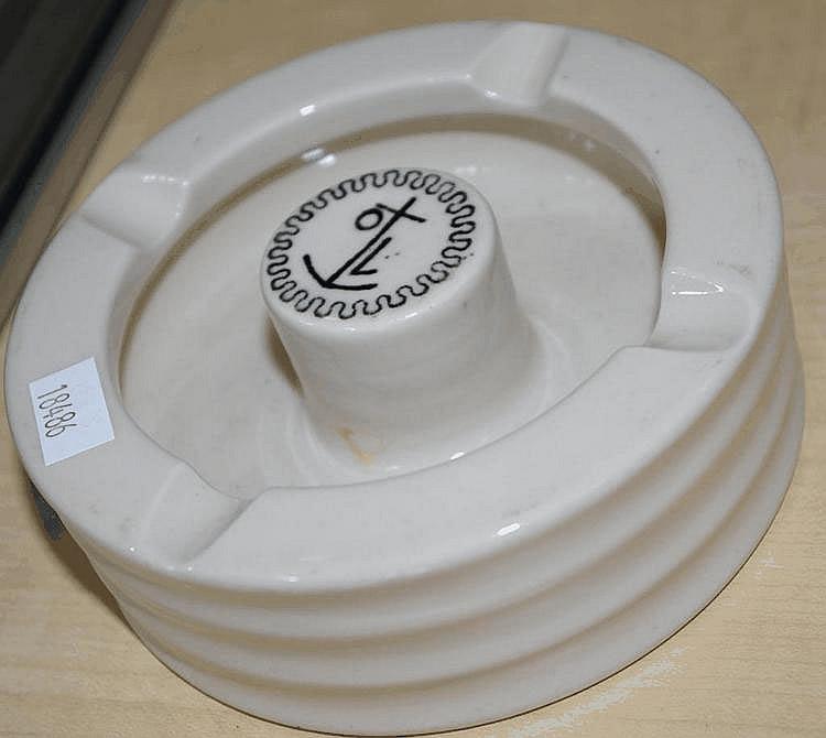 Doulton P&O; ashtray c1920