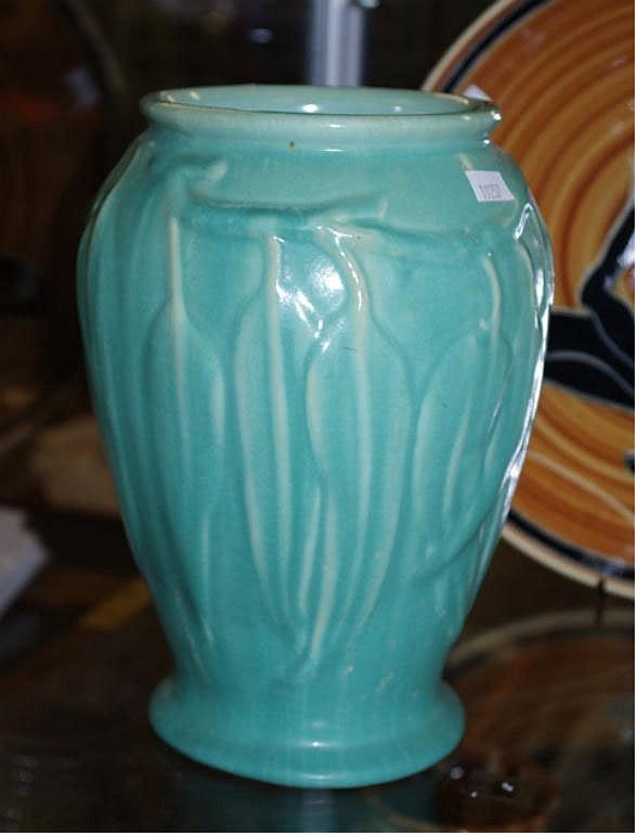 Australian Melrose gum leaf form vase