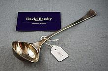 Sterling silver Danish ladle marked Hans Hansen,