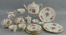 A Royal Crown Derby tea set, in the