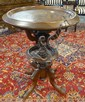 INLAID VICTORIAN LAMP TABLE