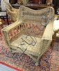 STICKLEY *WILLOWARE* WICKER ARM CHAIR