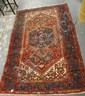 6 FT 7 IN X 4 FT 5 IN RED ORIENTAL RUG