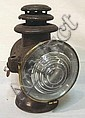 DIETZ *OCTO DRIVING LAMP*; HAS RED LENS IN THE