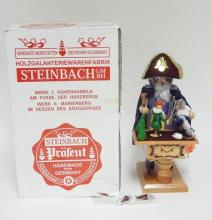 STEINBACH SMOKER IN ORIGINAL BOX. *DROSSELMEYER* S840. 12 1/2 IN.