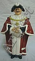 ROYAL DOULTON FIGURE; *THE MAYOR*, 1962; 8 IN H
