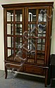LIGHTED DISPLAY CABINET W/2 DR & 1 DRW; 48 IN W,