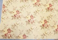 ROOM SIZE RUG WITH ALL OVER FLORAL DECORATION. 12 X 16 FT