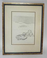 FRAMED PRINT *NOR' EASTER* BY CONSUELO LAKSER?