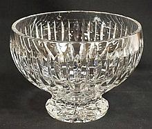 WATERFORD MARQUIS LARGE CRYSTAL BOWL; 9 1/2 IN TOP