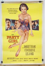 VINTAGE MOVIE THEATER POSTER *PARTY GIRL* (58-393) 1958 MGM. 40 X 60 IN.