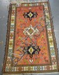 6 FT 8 IN X 4 FT 1 IN PERSIAN SILK KILIM RUG