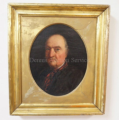 FRAMED O/C PORTRAIT BY JOHN OPIE; POST MORTEM