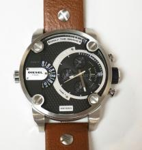 DIESEL *ONLY THE BRAVE* MENS WRISTWATCH.