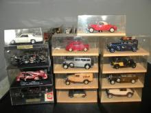 LOT OF 13 VITESSE DIE CAST MODEL CARS IN ORIGINAL BOX