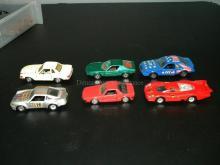 LOT OF VINTAGE NOREV DIE CAST MODEL CARS