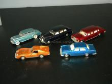 LOT OF VINTAGE DINKY ENGLAND DIE CAST MODEL CARS