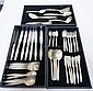 45 PC LUNT STERLING SILVER FLATWARE SET W/FLORAL