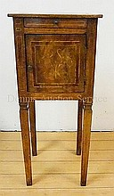 18TH C. ITALIAN INLAID STAND W/ONE DRAWER & ONE