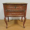 18TH C. CONTINENTAL 2 DRW COMMODE W/ORIGINAL PAINT