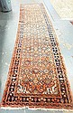 3 FT 4 IN X 13 FT RED ORIENTAL RUNNER