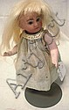 6 1/4 IN ALL BISQUE, FULLY JOINTED DOLL W/SWIVEL