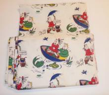 LARGE BOLT OF FABRIC- LITTLE LULU. APP 31 1/2 FT X 3 FT