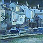 Mike Connley Early Morning, Tide Out, Polperro Oil