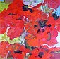 Romey Brough (1944- ) Poppies 1968 Oil on canvas,