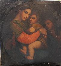 Italian School 18th/19th Century, Madonna della Se