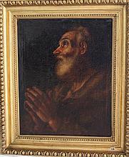 Guido Reni (1575-1642)-school of, Portrait of a pr