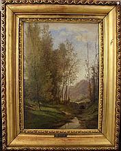 Jean-Baptiste Camille Corot (1796-1875)-school, La