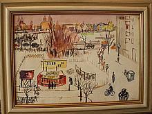 Otto Rudolf Schatz (1900-1961)-attributed, View of