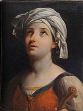 Guido Reni (1575 - 1642)-attributed, Oil study of