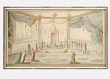 Jean-Baptiste Hilaire (1753–1822)-attributed, A French diplomatic corps by