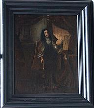Austrian School late 17th Century, Full portrait of Emperor Leopold I (1640