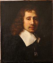 Phillippe de Champaigne (1602-1674)-attributed, Portrait of a gentleman wit