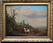Phillips Wouwerman (1619-1668)-attributed, Horse r