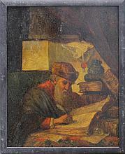 Dutch school 17th/18th Century, Portrait of a scho