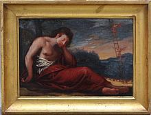 Italian School early 18th Century, Jacob's Dreams,