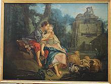 French school 18th Century, Fontaine de la Verité,