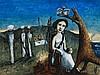GARRY SHEAD born 1942, CORONATION, 1996, oil on composition board