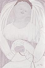 JOHN BRACK 1920 - 1999, THE BRIDE, 1960