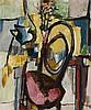 JOHN OLSEN born 1928, STILL LIFE, 1954, oil on canvas