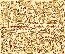 JOSEPHINE NAPURRULA c1948, TJUKURLA, 2007, synthetic polymer paint on linen