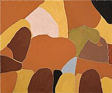 PATRICK MUNG MUNG c1948, UNTITLED, 2009, natural earth pigments and synthetic binder on canvas