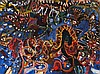 JOHN OLSEN born 1928, SYDNEY NIGHTS, 1965, oil on canvas, John Olsen, AUD35,000