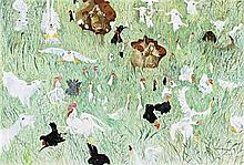 William Robinson 1936, BIRKDALE FARM, 1980 oil on canvas