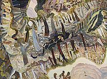 WILLIAM ROBINSON, born 1936, SUMMER NOON, c1988, oil on canvas